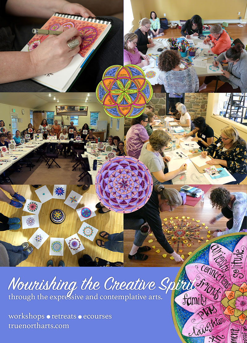 Nourishing the Creative Spirit through the expressive and contemplative arts. Workshops Retreats eCourses with Kathryn Costa