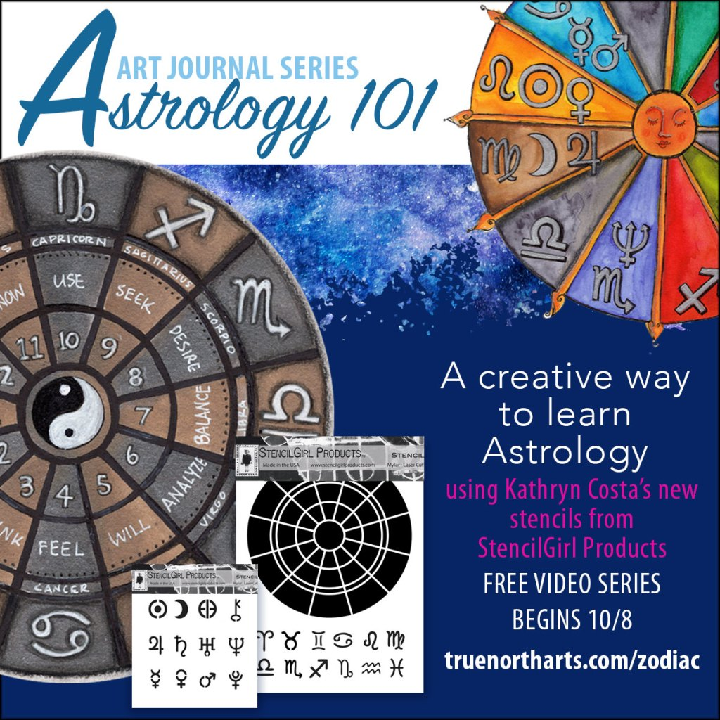 Free Astrology 101 Art Journal Series
